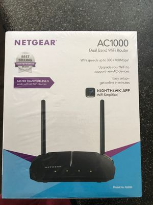 Netgear Dual Band WiFi Router for Sale in Las Vegas, NV