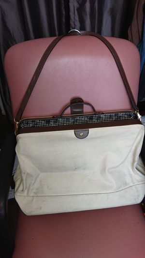 Kate Spade weekender large bag brown leather trim for Sale in Glendale, AZ