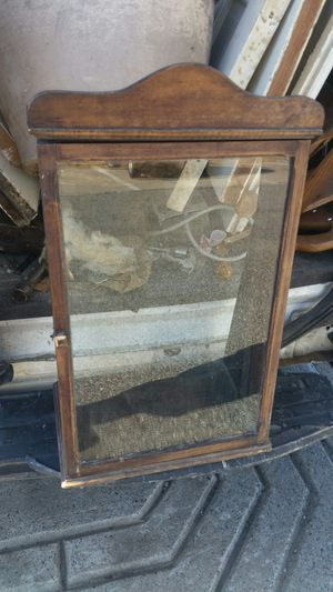Wood display case for Sale in Johnston, RI