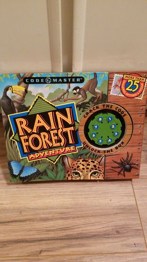 #8 rainforest advture puzzle and game book for Sale in Brighton, CO