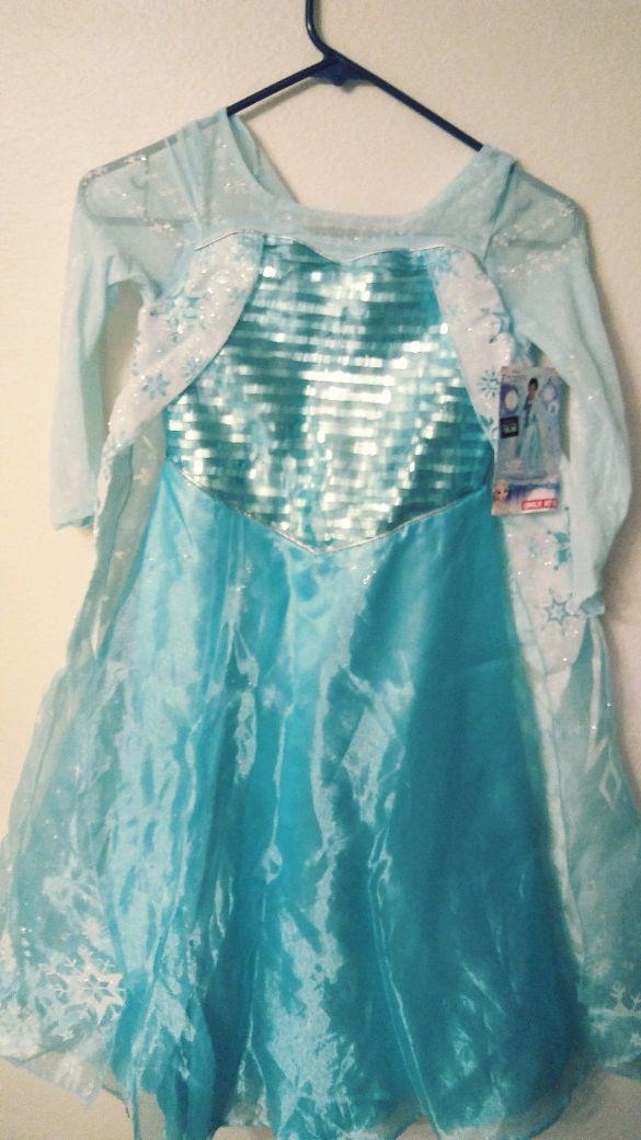 Frozen Queen Elsa Dress