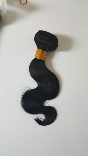 "12"" Brazilian human hair bodywave 3bundles 300g for Sale in Lanham, MD"