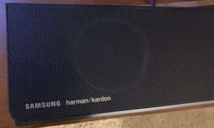 Samsung Harman/Kardon Sound bar, wireless rear speakers and sub for Sale in Loma Linda, CA