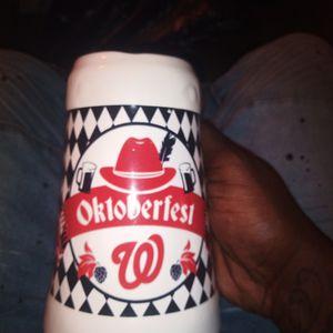 Washington Nationals Beer Mug Glass for Sale in Gaithersburg, MD