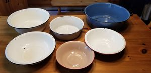 Vintage Enamel Wash Basins for Sale in Burrillville, RI