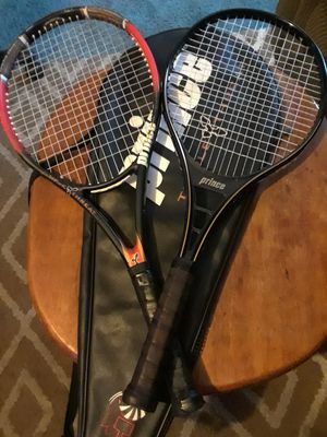 Prince triple threat pro tennis rackets for Sale in New Britain, CT