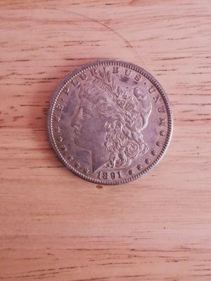 1891 CC Morgan silver dollar. $200 Firm. for Sale in Whittier, CA