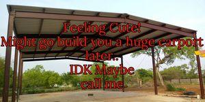 METAL BUILDINGS, CARPORTS, ROOFING, GARAGE DOORS, CALL ME! for Sale in Lytle, TX
