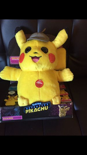 Talking Pokémon detective pikachu for Sale in Boring, OR