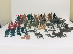 Vintage plastic army men for Sale in Rockport, IN