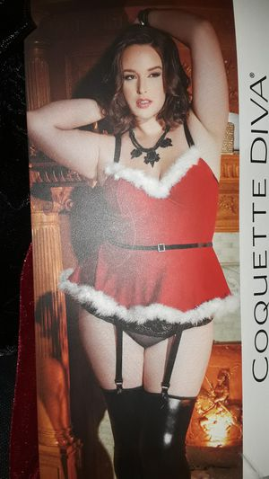 Miss Claus lingerie/Halloween Costume for Sale in Hazelwood, MO