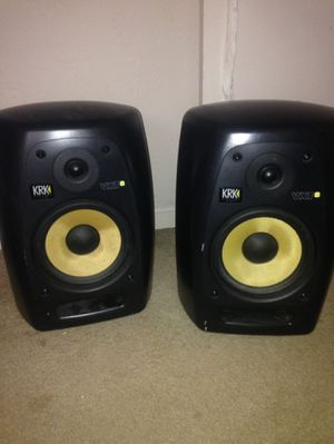KRK VXT 8 and KRK 10s Subwoofer for Sale in Fall River, MA