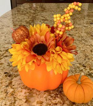 Pumpkin Flower Centerpieces! for Sale in Irvine, CA