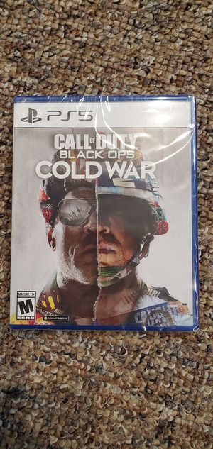 Call of duty black ops cold war ps5 brand new unopened for Sale in Oak Forest, IL
