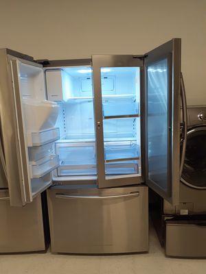 "🔥🔥Samsung//36"" stainless steel refrigerator showcase French door 90 days warranty 🔥🔥 for Sale in Mount Rainier, MD"