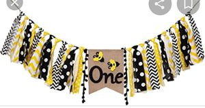 New Bee 1st. Birthday Banner for Sale in Whittier, CA