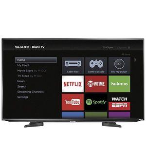 "Sharp 43"" Class LED 1080p Smart HDTV Roku TV for Sale in Alexandria, VA"