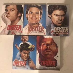 DEXTER DVDS : SEASONS 1-5 for Sale in Brooklyn, NY