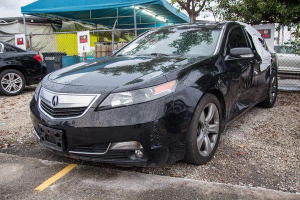 2014 Acura TL parts partout