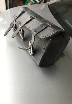 Leather motorcycle pouch for Sale in Skokie, IL