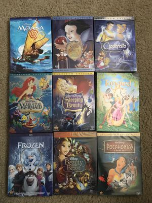 •NEW• 9 Disney Movie Combo DVDs for Sale in Fircrest, WA