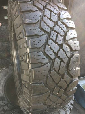 265/70/17 GoodYear Tires All terrain (4 for $340) for Sale in Downey, CA