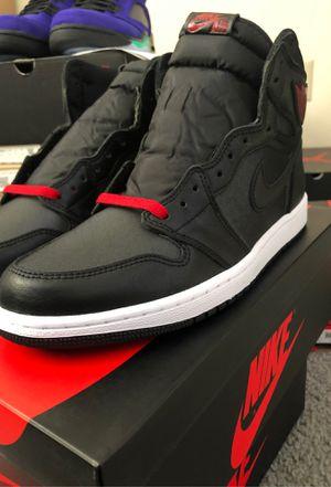 Air Jordan 1 Retro High OG Black Satin Sz 10 for Sale in OH, US