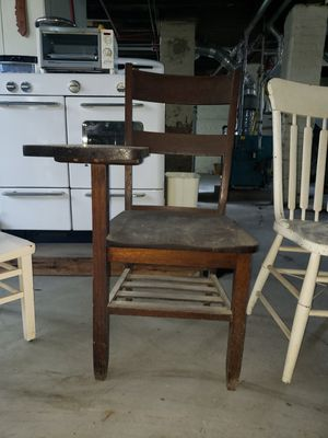 Antique School Desk Chair for Sale in Whiting, IN