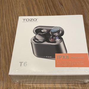 Waterproof & Wireless Earbuds, Tozo T6 for Sale in Los Angeles, CA