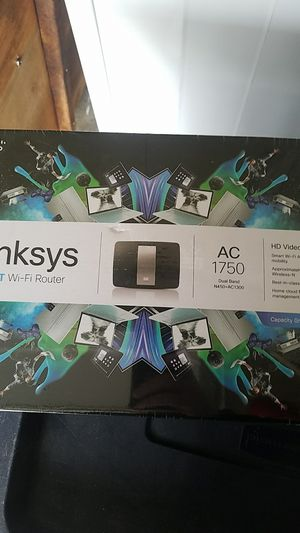 Linksys smart router wifi ac 1750 for Sale in Portland, OR