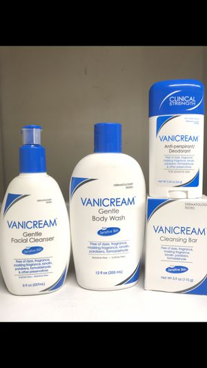 VANICREAM FOR SENSITIVE SKIN BUNDLE for Sale in Redondo Beach, CA