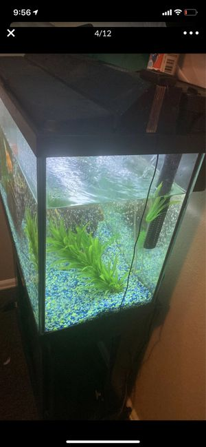 Fish Tank 50 Gallon comes w everything for Sale in Denver, CO
