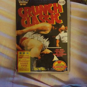 Wwf Crunch Classic Dvd for Sale in Chicago, IL