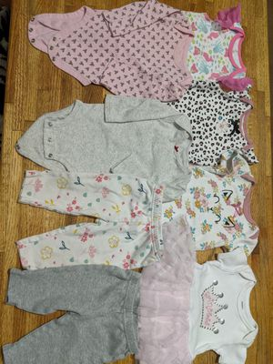 Baby girl clothes for 3 month all for $5 for Sale in Avondale, AZ