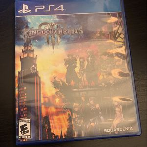 Kingdom hearts 3 PS4 for Sale in Cypress, TX