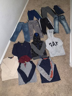 Winter clothes bundle size 4T! (Adidas, Nike,puma, Levi's) for Sale in Dallas, TX