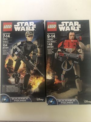 Lego Star Wars two buildable figures new for Sale in Irvine, CA