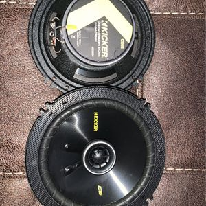 speakers - (1) pair kicker cs65 for Sale in Friendsville, TN