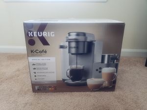 Keurig K-Cafe Maker Special Edition - Latte & Cappuccino Maker - Dishwasher safe frother and cups - Nickel Color for Sale in Davenport, FL