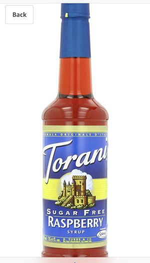 Torani Sugar Free Syrup, Raspberry, 25.4 Ounces (Pack of 4) for Sale in Fontana, CA