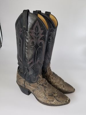 Dan Post Women's Exotic Snakeskin Cowboy Western Boots Size 5.5. A15 for Sale in Waxahachie, TX