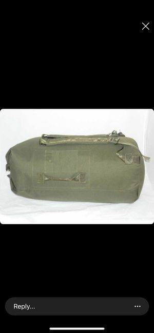 Military style duffel bag for Sale in Fontana, CA