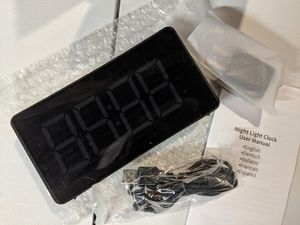 Night light alarm clock for Sale in South Attleboro, MA