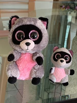 Rocco Racoon Beanie Boos for Sale in Margate, FL