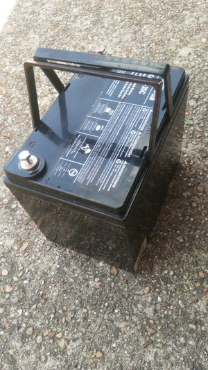 One solar power battery for Sale in Houston, TX