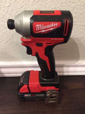 Milwaukee m18 impact hex for Sale in Selma, TX