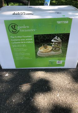 New outdoor decor fountain for Sale in Herndon,  VA