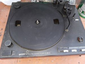 vintage gemini turntable works.Needs {url removed} is $20 for Sale in Miami Gardens, FL