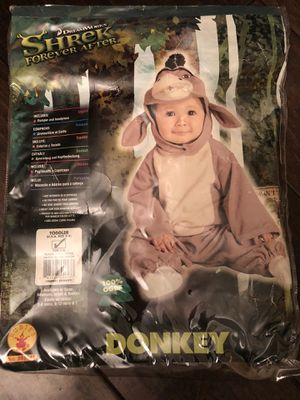 Donkey Shrek Toddle Costume for Sale in Poway, CA