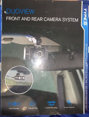 DUOVIEW Front and Rear Camera System Type S Recorder for Sale in Orlando, FL
